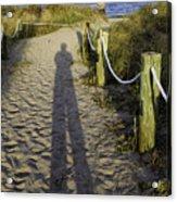 Beach Entry Acrylic Print