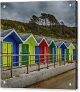 Beach Huts 1 Acrylic Print