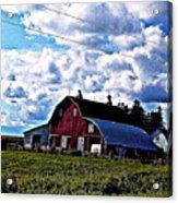 Beautiful Barn Acrylic Print