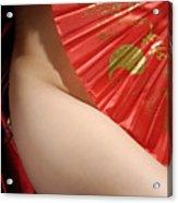 Beautiful Naked Woman Acrylic Print
