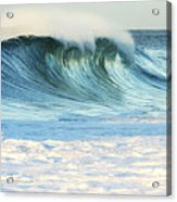Beautiful Wave Breaking Acrylic Print