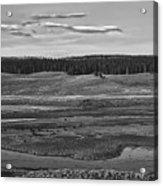 Beautiful Yellowstone Acrylic Print
