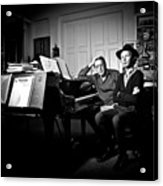 Beck And Philip Glass Photographed By Anna Webber, September 23rd, Acrylic Print