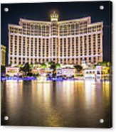 Bellagio Hotel On Nov, 2017 In Las Vegas, Nevada,usa. Bellagio I Acrylic Print