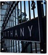 Bethany Cemetery Acrylic Print