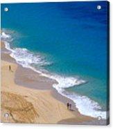 Big Beach On Big Island Of Hawaii Acrylic Print