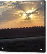 Big Sky Texas Style Acrylic Print