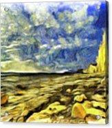 Birling Gap And Seven Sisters Art Acrylic Print