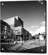 Birmingham City Library In Centenary Square Uk Acrylic Print