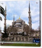 Blue Mosque-- Sultan Ahmed Mosque Acrylic Print