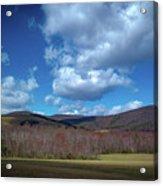 Blue Ridge Foothills Acrylic Print