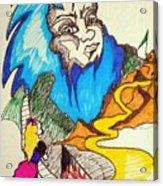 Bluebeard Acrylic Print