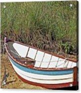 Boat And Anchor Acrylic Print