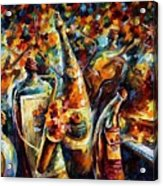 Bottle Jazz Acrylic Print
