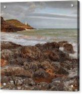Bracelet Bay And Mumbles Lighthouse Acrylic Print