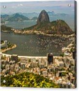Brasil Rio De Janeiro Acrylic Print
