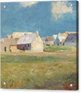 Breton Village Acrylic Print