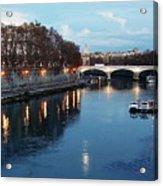 Bridge In Rome Acrylic Print