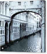 Bridge Of Sighs, Venice, Italy Acrylic Print