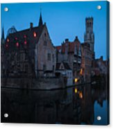 Bruges Acrylic Print