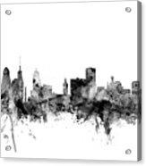 Buffalo New York Skyline Acrylic Print