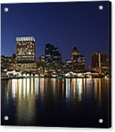 Buildings At The Waterfront, Inner Acrylic Print