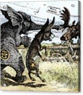Bull Moose Campaign, 1912 Acrylic Print