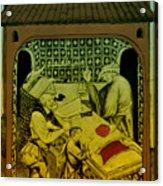 Butcher, Medieval Tradesman Acrylic Print
