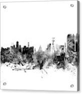 Calcutta Kolkata India Skyline Acrylic Print