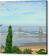 Cannon Beach, Oregon Acrylic Print