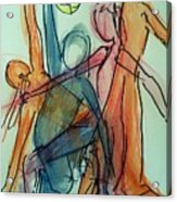 Captured Movements Acrylic Print