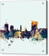 Cardiff Wales Skyline Acrylic Print