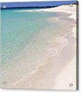 Caribbean Beach. Acrylic Print