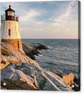 Castle Hill Lighthouse, Newport, Rhode Island Acrylic Print