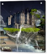 Castle In The Sky Art Acrylic Print