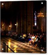 Cathedrale Notre Dame De Paris Acrylic Print