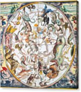 Celestial Planisphere, 1660 Acrylic Print