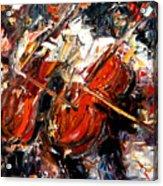 2 Cellos Acrylic Print