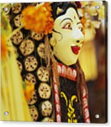 Ceremonial Mask Acrylic Print