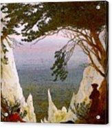 Chalk Cliffs On Rugen  Acrylic Print