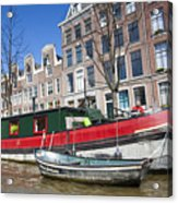 Channels Of Amsterdam Acrylic Print