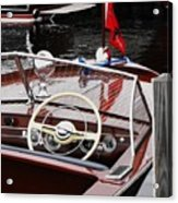 Chris Craft Utility Acrylic Print