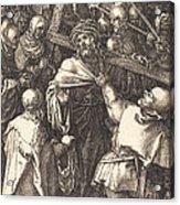 Christ Carrying The Cross Acrylic Print