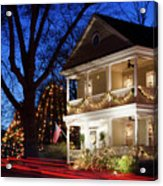 Christmas Village Acrylic Print