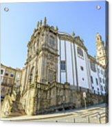 Church Of Clerigos Porto Acrylic Print