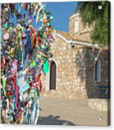 Church Of Profitis Elias - Cyprus Acrylic Print