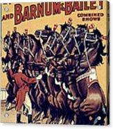 Circus Poster, 1920s Acrylic Print