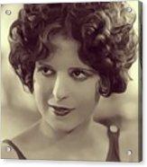 Clara Bow, Vintage Actress Acrylic Print