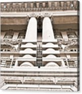 Classic Architecture Acrylic Print