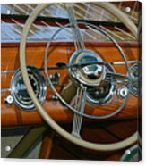 Classic Runabout Acrylic Print